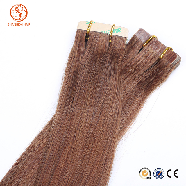 Wholesale alibaba virgin european sticker tape in pu tape hair extensions