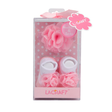 Baby Headbands & Socks Set Hair Bows Baby Accessory