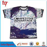 T shirt apparel for men long and tall tee print custom OEM design tshirt