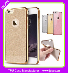 JESOY New Arrival Shockproof Silicone Gel TPU Back Cover Case For Samsung Galaxy S6 Edge