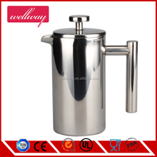 Double Wall Stainless Steel French Coffee Press 1 Liter 1L Cafetiere