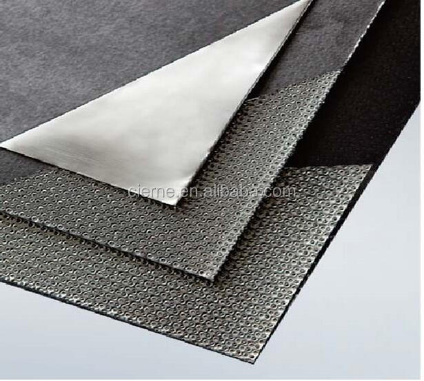 natural High purity Expanded graphite sheet Corrugated Metal Foil Reinforced gaskets
