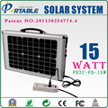 high conversion of silicon solar panel 15W Solar Pumping System