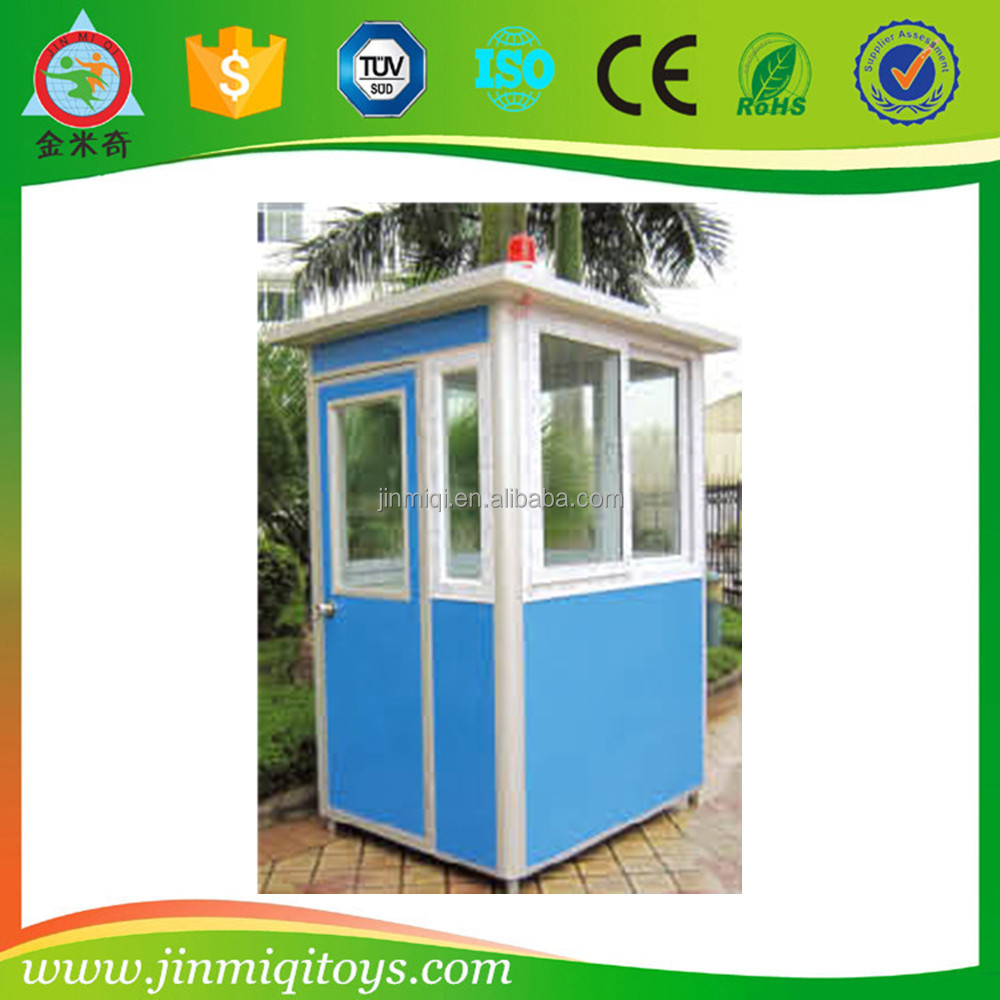 Mobile prefab sentry box,kiosk,booth