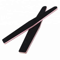Professional nail beauty tools gift promotion diamond rectangle half moon straight curved shape custom nail file for nail art