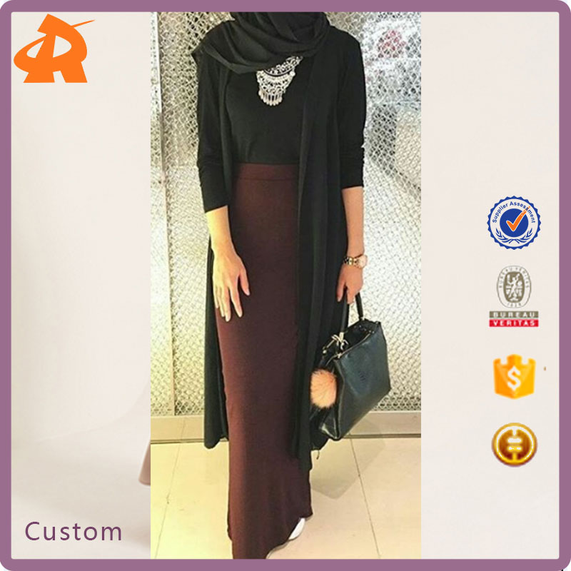 China Product Small Quantity Maxi Bodycon Skirt Wholesale