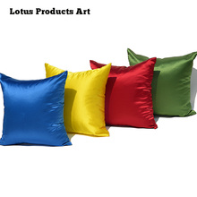 Classic Silk Plastic Sofa Sequin Mermaid Throw Pillows Decorative New Year Cushion Cover