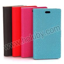 Wallet Leather Case for BlackBerry Z3,Gravel Pattern Magnetic Flip Leather Case for BlackBerry Z3 with Card Slot