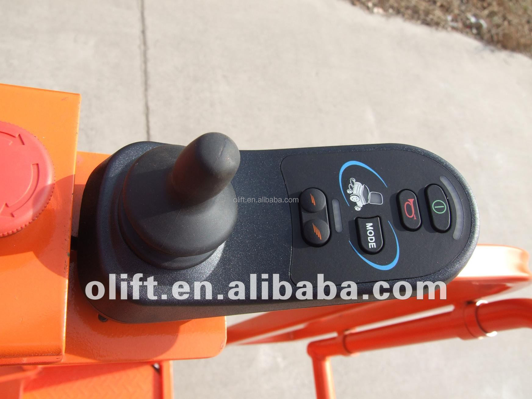 hot sale Olift aerial order picker with good price with CE ISO and SGS