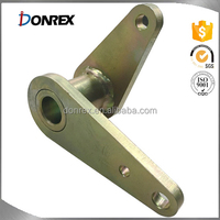 cutsom stainless steel operating lever with drill and painting with ISO 9001 made in China