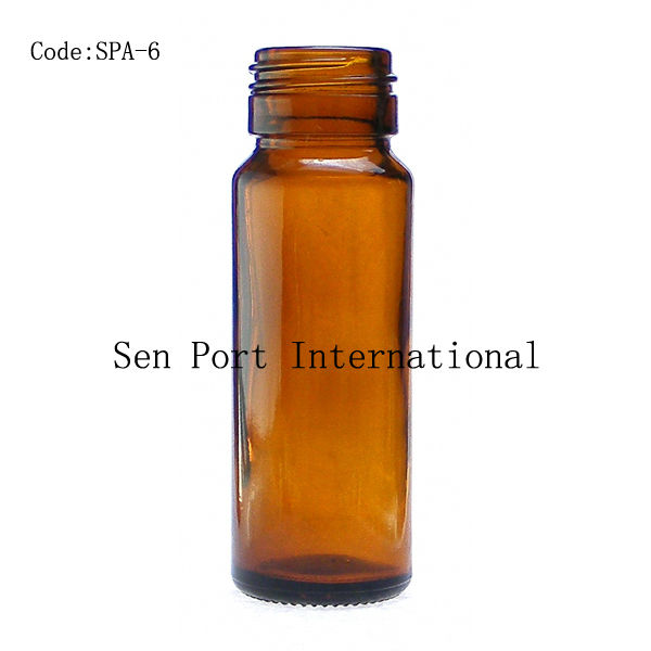 30ml amber oral liquid glass mould bottle