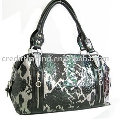 Camo print Snakeskin Imitation Ladies Satchel Bags