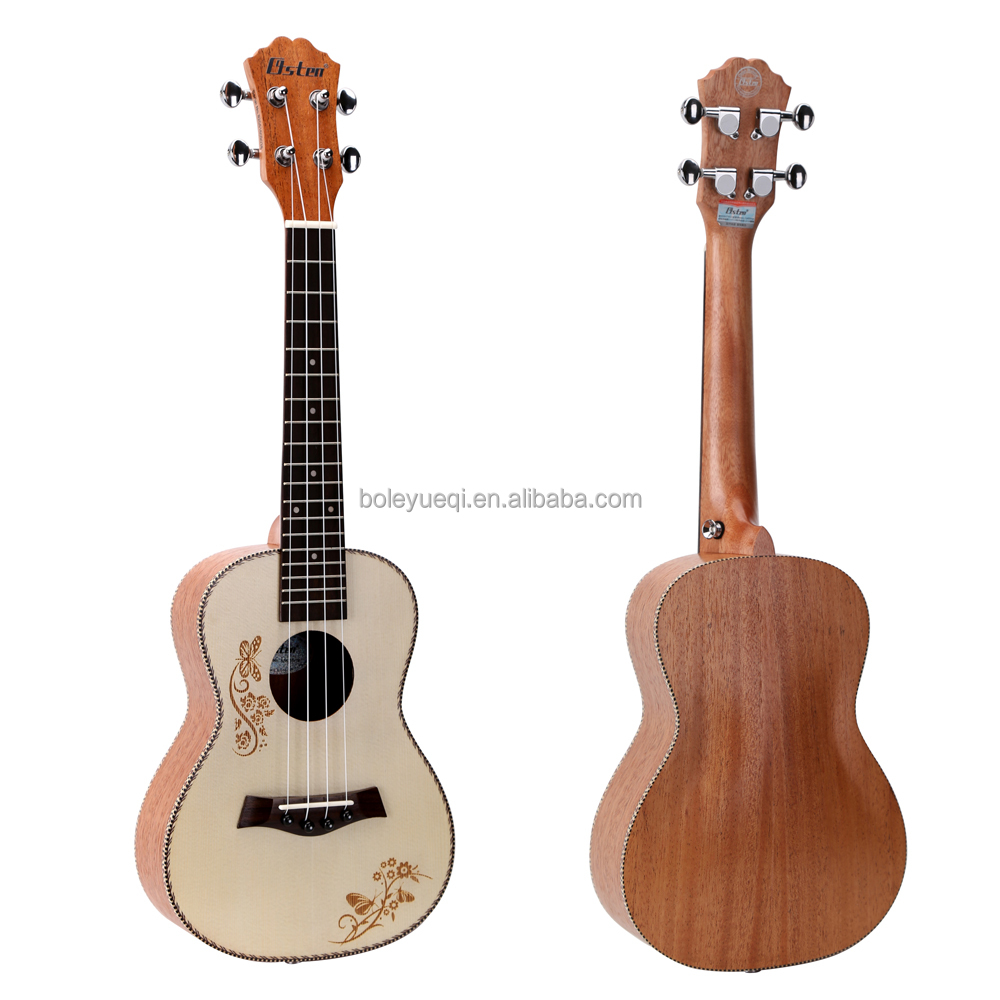 Practical Price Resonator Guitar 23 inch Concert Ukulele with Spruce Wood Matte Finish UK36