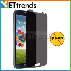 Self-Adhesive privacy screen protector skin cover guard for Samsung S4