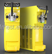 New Technical Adopted Fruit Spaghetti Ice Cream Machine with Air Cooling