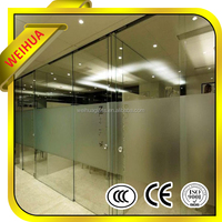 Clear safety glass laminate flooring prices large glass panles