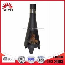 bbq grill Log Burner fire pit Deluxe Chiminea fire pit with chimney