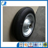 Qingdao manufacturer heavy duty wheelbarrow wheels 14x4 inch solid wheel