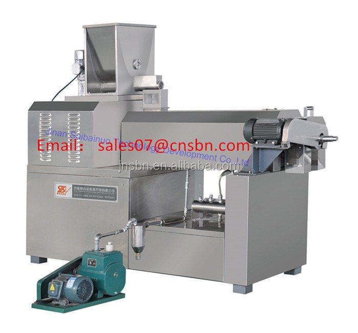 Macaroni production line industrial fully automatic macaroni pasta making machine