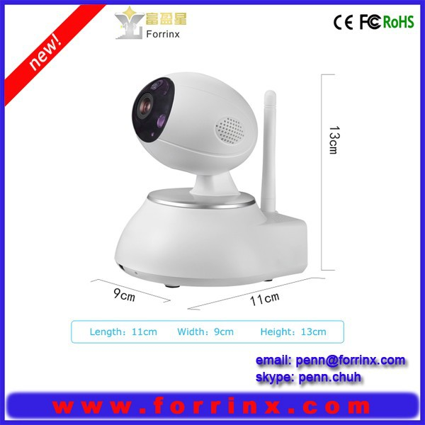 P2P Wireless Pan & Tilt IP/Network Internet Camera digital camera for home