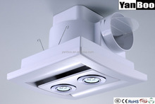 Kitchen Bathroom Ducted Exhaust Fan with LED Light