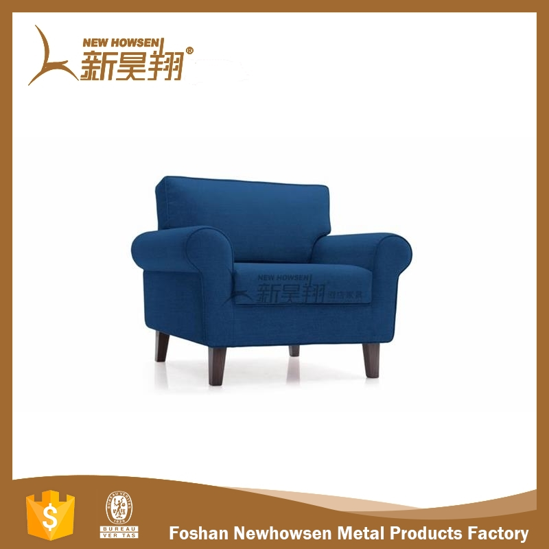 Blue Fabric Liviing Room Sofa Bed Room Sofa Set