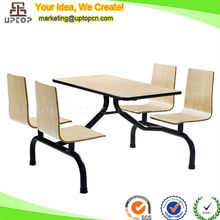 (SP-LT367) used whole set commercial school canteen furniture