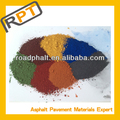 special pigment of colored asphalt