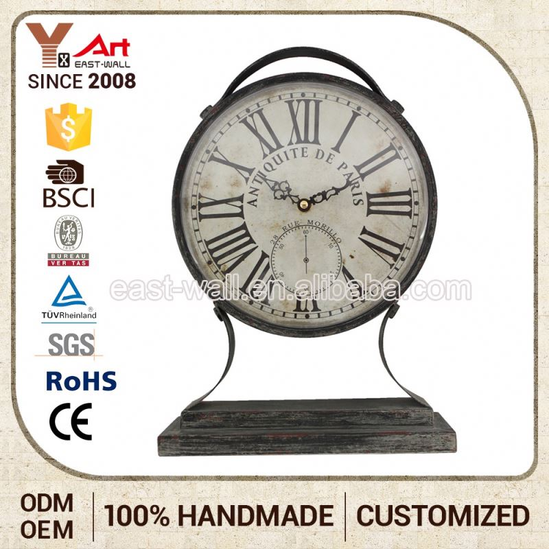 For Promotion/Advertising Low Price Creative Items Clock Antique Unique Table Clocks