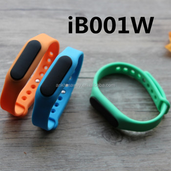 Rechargeable Smart Bluetooth Low Energy Beacon Wristband iBeacon