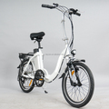 20'' folding electric bike and bicycle