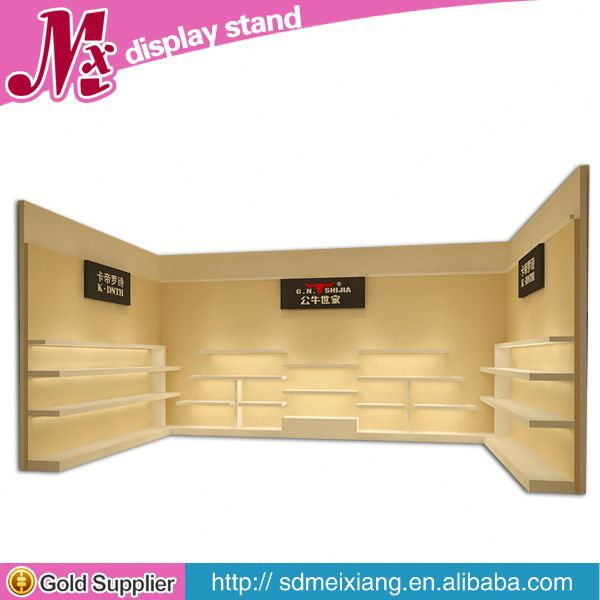 Shop e cigar display stand, MX4376 high precision clothes display fixtures cabinet