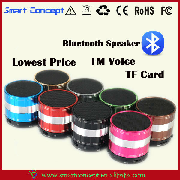 For All Kind Of Smartphone Portable Mini Bluetooth FM Radio Mini Digital Speaker