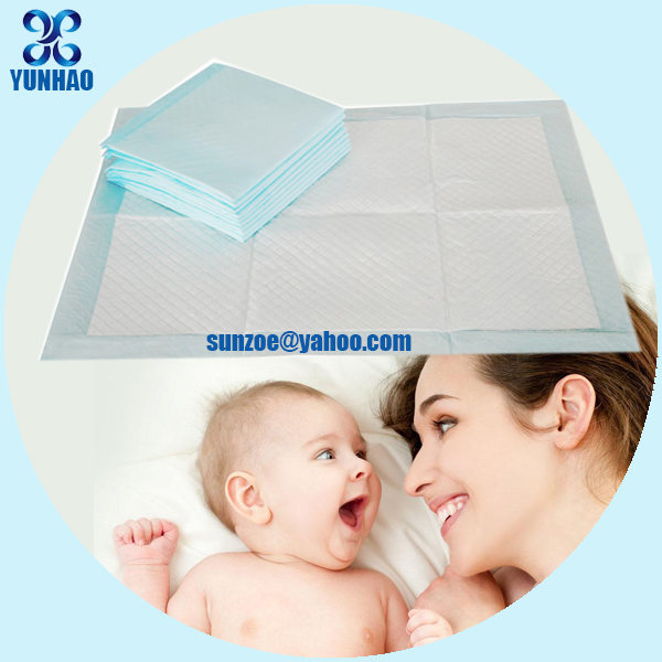 Disposable absorbent nursing baby care product for elderly baby