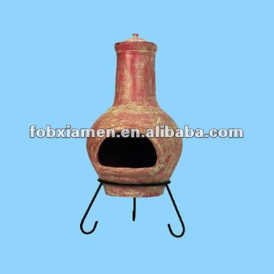 Garden supplies outdoor clay chimeneas