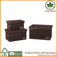 practical home collect use storage creat wooden boxes wholesale