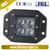 Flush Mounting CREE 20W 4x4 Led Spot Aluminum Housing Lighting For Offroad Jeep SUV Truck Front Rear Tail Head Lamp