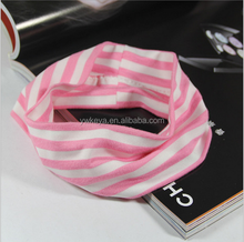 Custom Cotton Spa Yoga Stripe Headband Women
