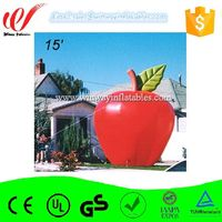 Inflatable fruit apple ground balloon Y3179