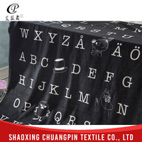 Wholesale Polar 100% polyester Fashion Design Promotion Make Your Own Fleece Blanket