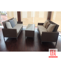 China wholesale modern close-up garden outdoor rattan leisure coffee table and chair furniture