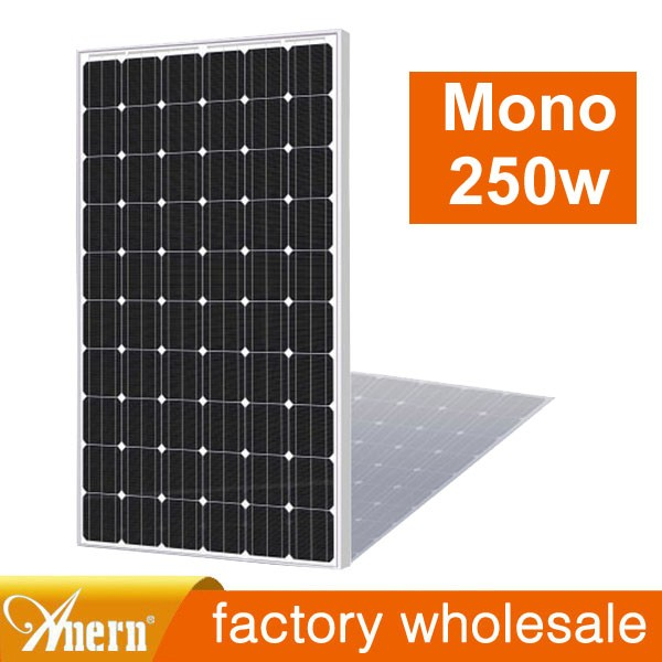 2016 newest 5w to 250w chinese solar panels price