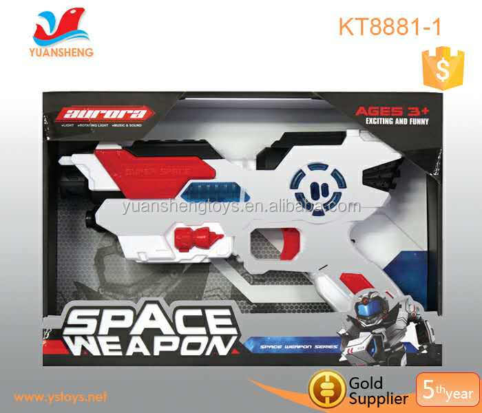 2016 good quality electronic laser gun to boys birthday gifts