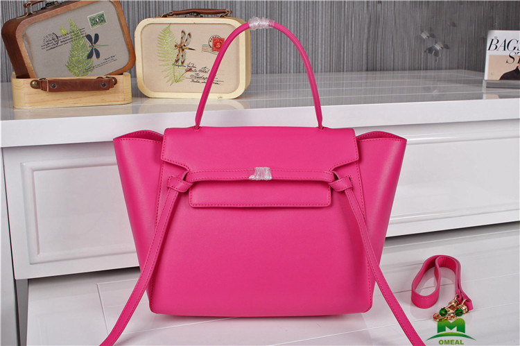 high quality hot pink designer handbags women branded original leather bags C2-92 fast shipping dropship
