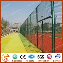 Widely use in athletic sports mesh fence sports field netting playground netting