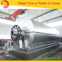 High Profit low cost waste tyre pyrolysis fuel oil machine