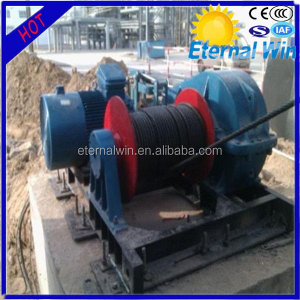High quality 20 ton hydraulic winch