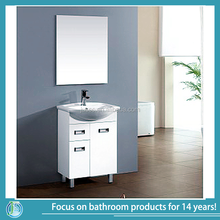 american tall floating bathroom vanity set featuring white vessel sink bathroom vanity