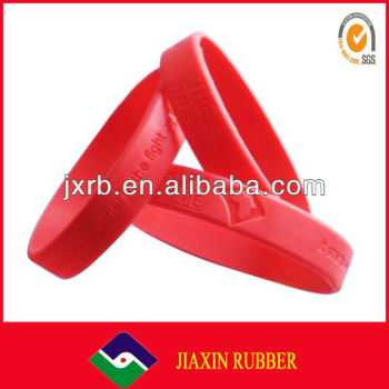 Customized Silicone Rubber Blacelet