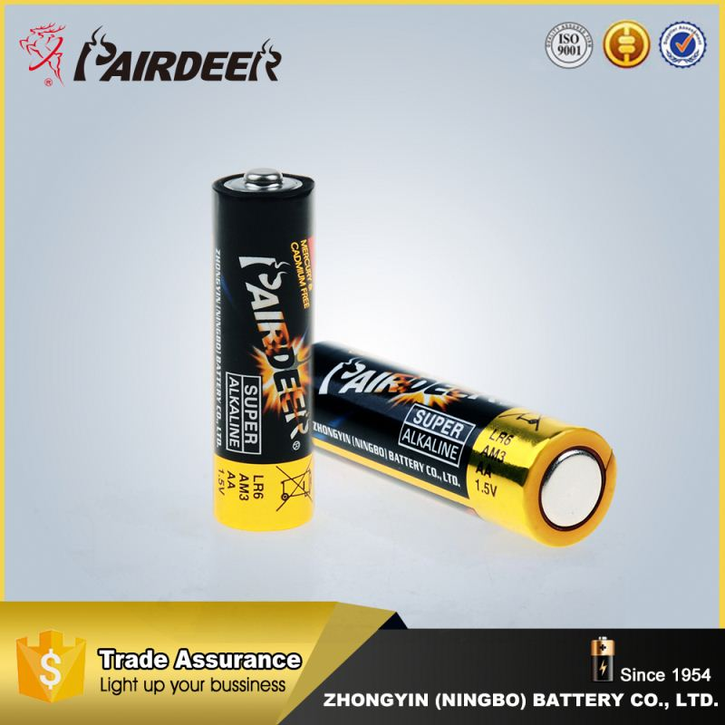 Excellent factory directly aa alkaline batteries